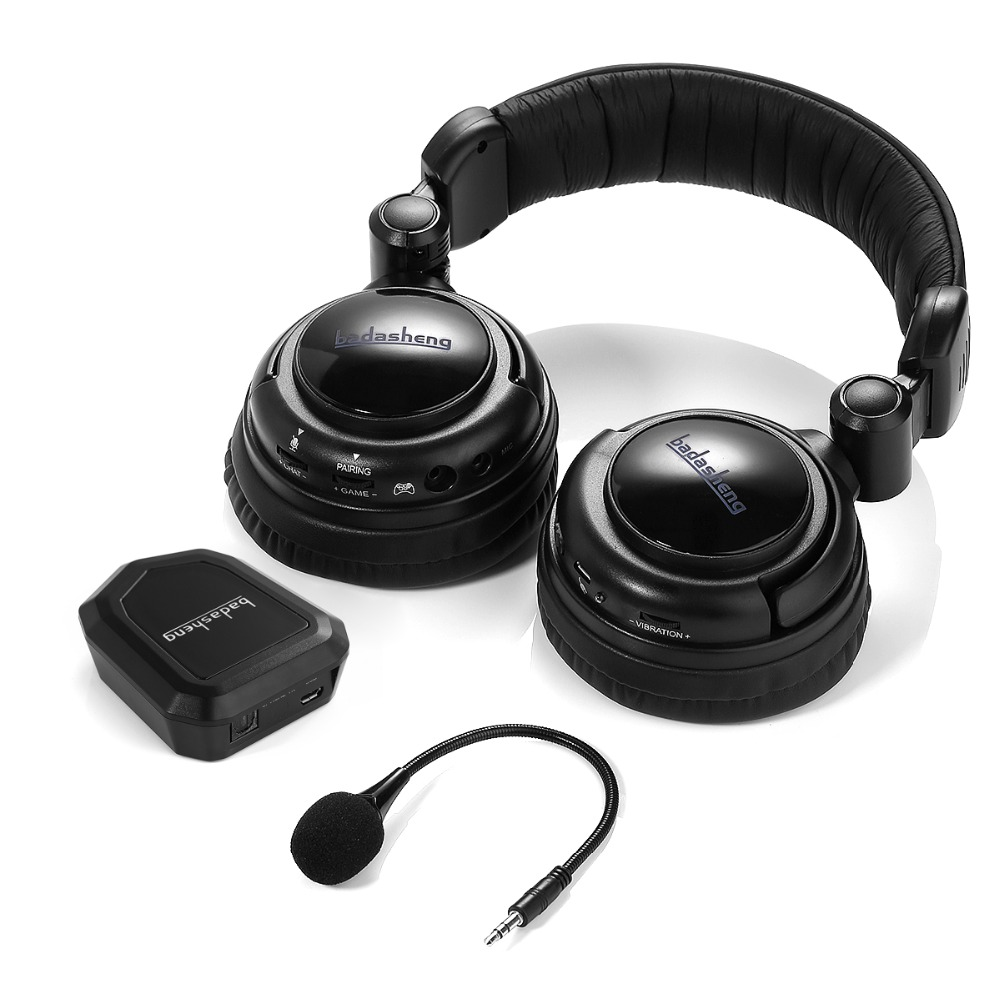 2 4 Ghz Optical Wireless Stereo Vibration Gaming Headset For Xbox 360S PS4 3 PC Mac