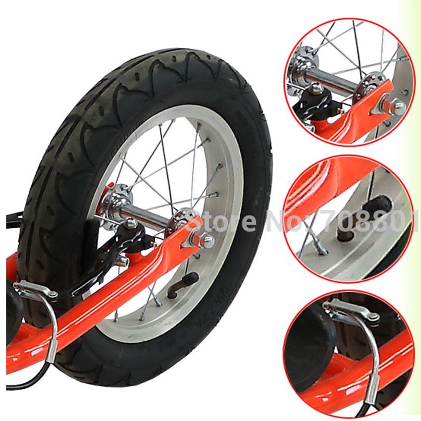 T7 12 Zoll Air Wheel Kids Roller High Carbon Stahlrahmen und - Radfahren - Foto 2