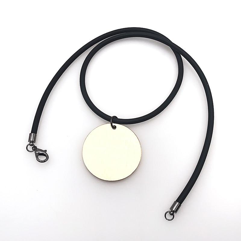 Купить с кэшбэком YD&YDBZ Simple Hand Rubber Collar Necklace Gold Metal Pendant Necklaces Handmade Jewelry Ethnic Style Women's Dress Accessories