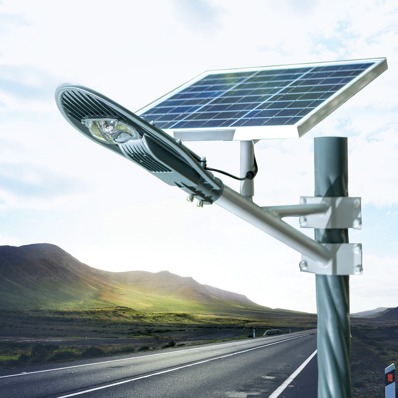 Street Light With Solar Panel: 12W Eclairage Exterieur Led Solaire Street Lights Wireless