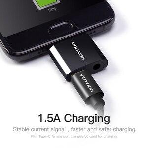 Image 4 - Vention USB C ถึง 3.5 มม.หูฟังอะแดปเตอร์ชาร์จ Type C แจ็ค 3.5 Type C หูฟังแปลงสำหรับ xiaomi Mi6 Huawei P20 Pro