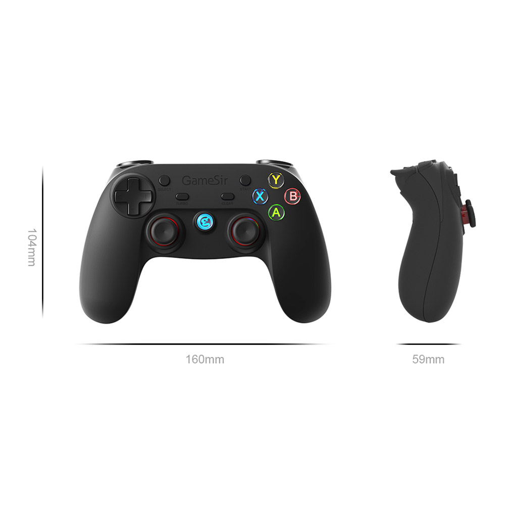 US $50 73 |GameSir G3s Gamepad for PS3 Bluetooth&2 4GHz snes nes N64  Joystick for VR Box for SONY Playstation3 for Android Enhanced for PS3-in