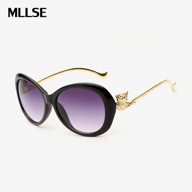 3f785742cc1 MLLSE s Fashion Women Polarized Sunglasses Fox Glasses Women Gradient  Butterfly Sun Glasses UV400 Female Shades Eyewear WS026