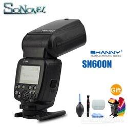 SHANNY SN600N i-TTL HSS 1/8000s Flash Speedlite for Nikon D7500 D7300 D5600 D5300 D5200 D3400 D850 D810 D750 D500 D610 D600 D5 4