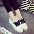 2016 Spring new style butterfly-knot Cut-Outs women casual shoes fashion platform breathable slip-on casual shoes ST799