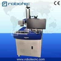 hot sale fiber laser marker laser marking machine for plastic bottle