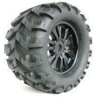 4 Pieces 150mm Site Truck Tires Rubber RC 1 8 Off Road Vehicles Have Changed Bigfoot