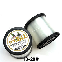 500m nylon fishing line reel has super strength strong into the characteristics of the water speed
