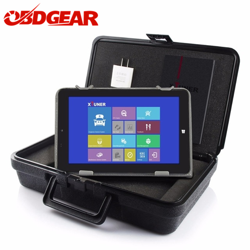 XTUNER E3 EasyDiag Wifi Diagnostic Tool Automotriz Scanner Wifi OBD-II Automotive Scanner+8WIN10 Tablet For DTC ABS SRS Airbag