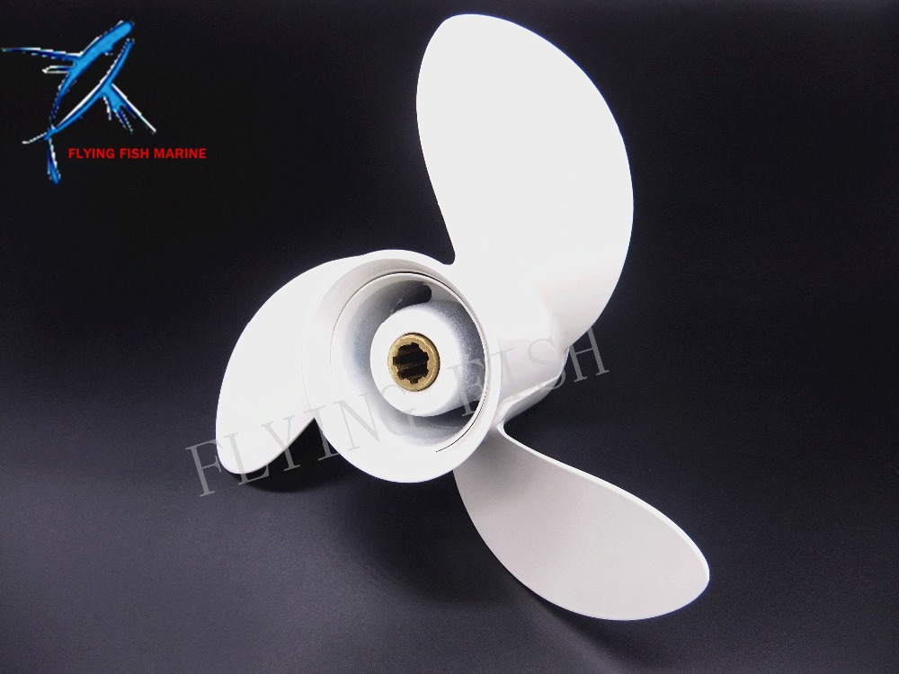 8 1/2 x 8 1/2 -N Aluminum propeller for Yamaha 6hp 8hp 9.9hp F6 F8 F9.9 Boat Engines 6G1-45941-00-EL 8 1/2x8 1/2 -N ouboard engine aluminum propeller 9 7 8x10 1 2 f for yamaha 20hp 25hp 30hp boat motors 664 45945 00 el 9 7 8 x 10 1 2 f