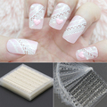 Melhor Deal30 folhas 3D Lace Nail Art Stickers preto branco DIY Decal dicas Manicure ToolsHot