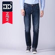 DD Famous Brand Newest Designer Jeans Plus Size Regular Straight  Mens Jeans Design Men's Jeans Elastic Denim Jeans