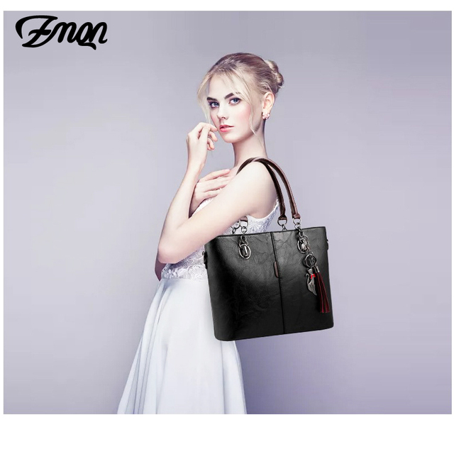 Luxury Handbags Women Bag Designer 2018 Big Ladies Hand Bag - Ladies Leather Handbag 5
