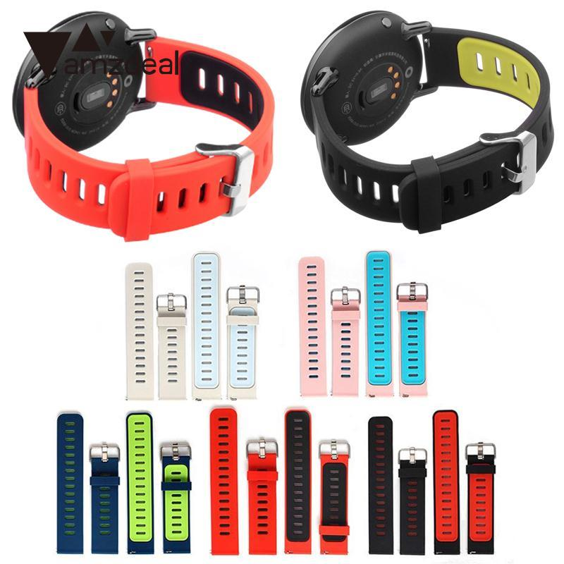 amzdeal New Replacement Soft Silicone Band Wrist Strap WristBand Durable For AMAZFIT Sports font b Smart