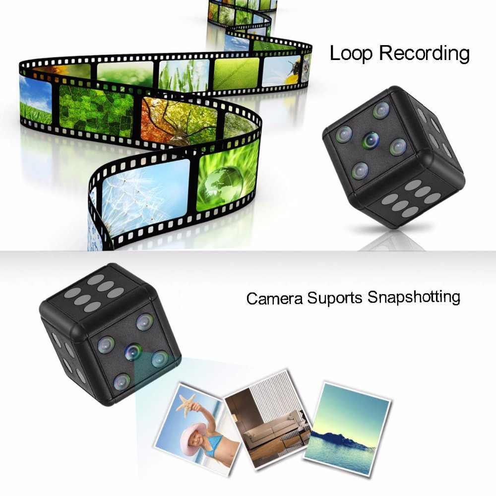 Mini kamera HD 1080 P kamera Night Vision mini kamera akcja Mini kamera wideo DV i dyktafon mikro kamery PK SQ12 SQ11
