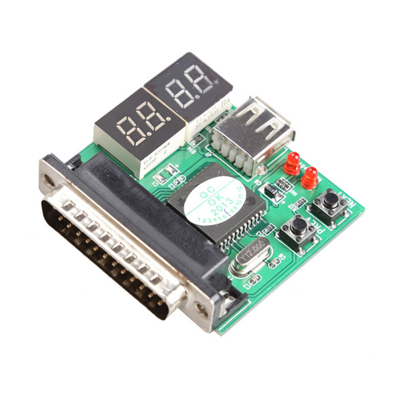 New 4-Digit PC Analyzer Motherboard Diagnostic Tester USB Post Test Card High Quality