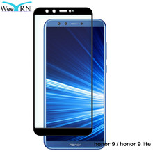 WeeYRN Honor 9 lite Full Cover Protective Glass For Huawei Honor 9 / 9 lite Tempered Glass Screen Protector For Huawei Honor 9