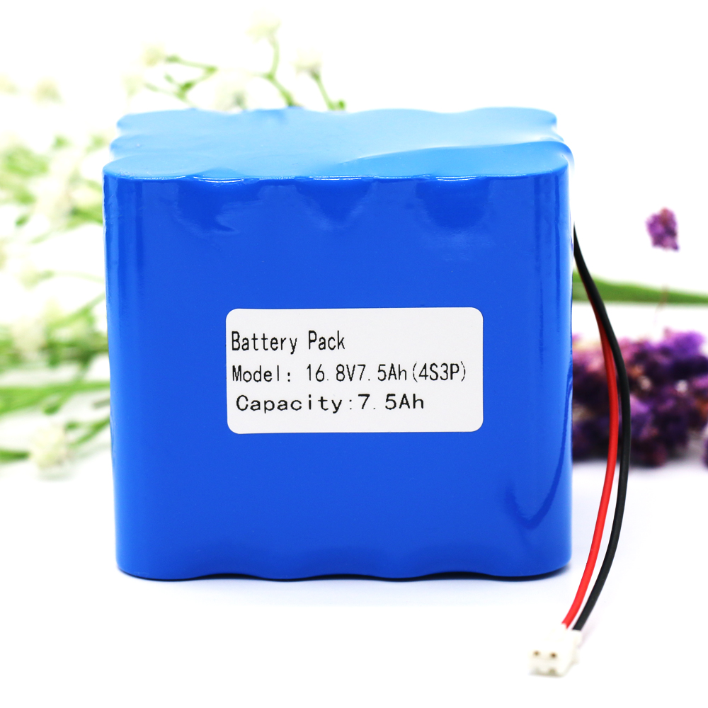 KLUOSI 4S3P 14.8V/16.8V 7500mAh 18650 Li iom Battery Pack Night Fishing Lamp Heater Miner's Lamp Amplifier Battery with 5A BMS|Battery Packs| |  - title=