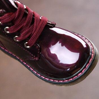 Children Martin Boots PU Waterproof Boys Shoes Fashion Girls Princess Boots Baby Kids Snow Boots