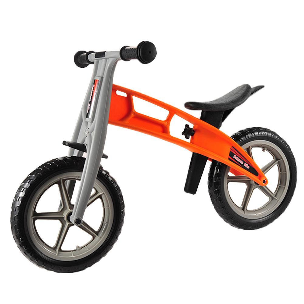 12 Inch Sport Aluminum Balance Bike Toddler Without Pedals For 2 - 6 Year Old - (Red/Green/Orange) 2