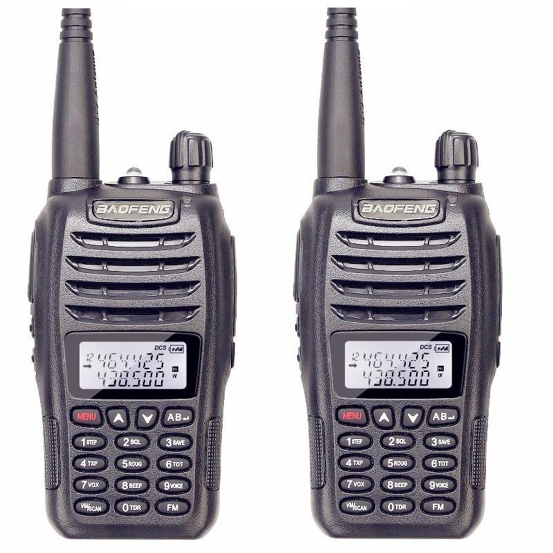 Rational 2pcs/lot Baofeng Uv B6 Police Walkie Talkie Dual Band Vhf And Uhf Ham Radio Hf Transceiver For 2 Way Radio Midland Handheld Hand