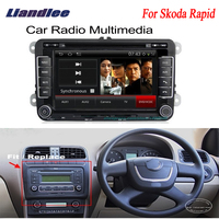 For Skoda Rapid 2011~2012 Car Android GPS Navigation Radio TV DVD Player Audio Video Stereo Multimedia System