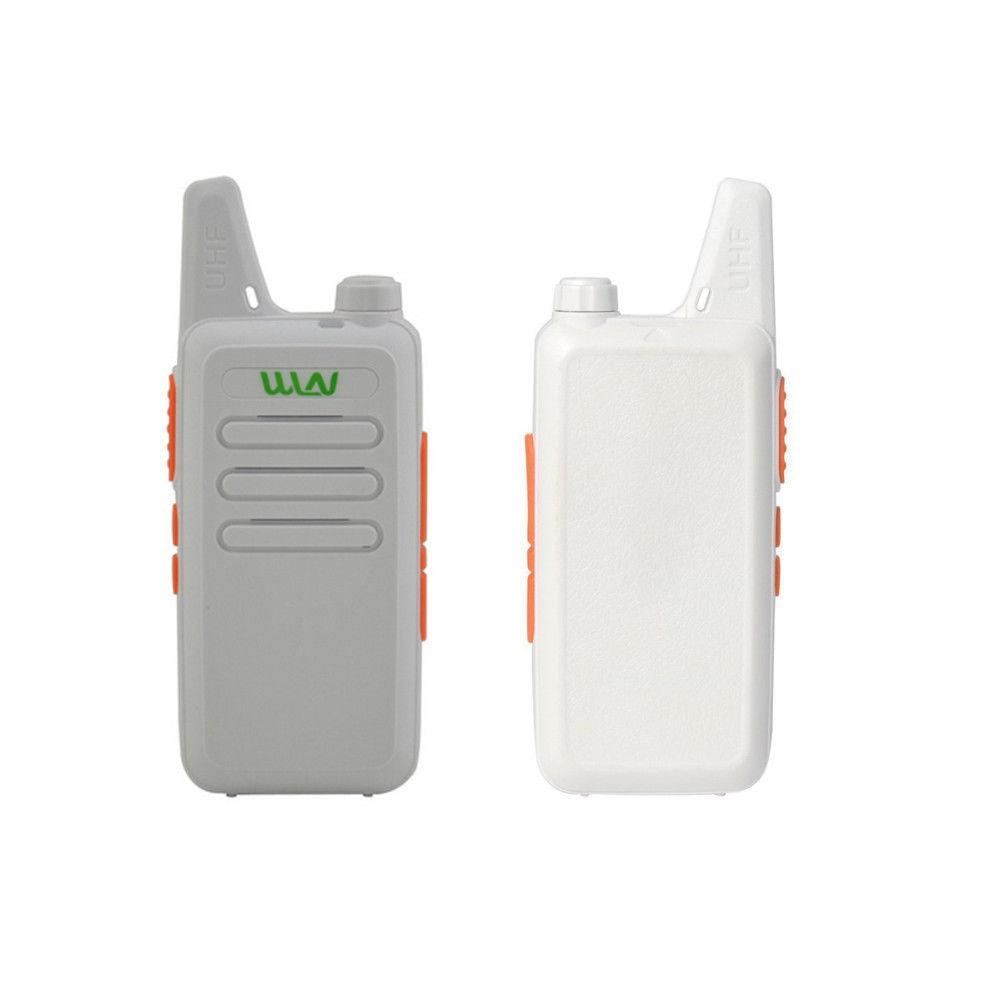 WLN KD-C1 Pocket Size Two Way Radio Ultra-Thin PKT-03 UHF CB Radio 5W Long Range Walkie Talkie Radio With FREE Belt Clip