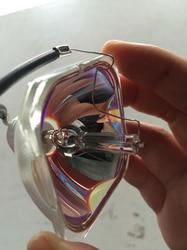 Kompatybilny projektor gołe żarówki ELPLP67 V13H010L67 do projektora Epson EB X14  EB W02  EB X02  EB S12  EB X11  MG 850HD  EH TW480 w Lampy rtęciowe od Lampy i oświetlenie na