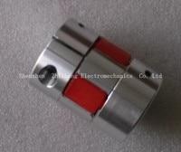 1 Pcs Lot Sleeve With Elastic Spider Aluminium CNC Stepper Motor Plum Coupling Clutch ID