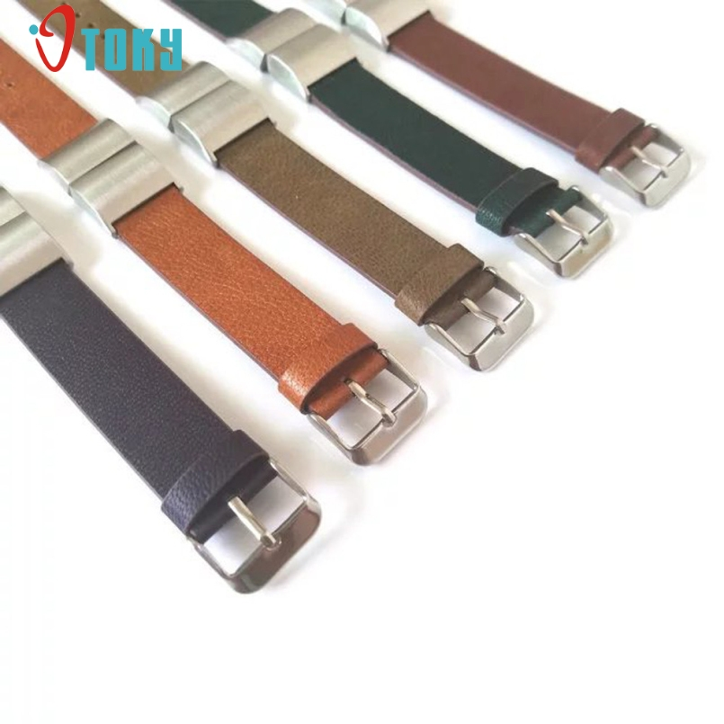 Excellent Quality Luxury Leather Watch Band Strap + Lugs Adapters For Fitbit Charge 2 Factory Price Dec-26
