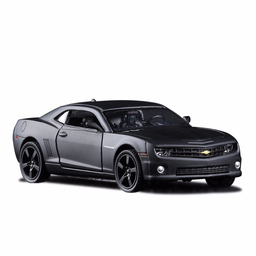 1 36 scale chevrolet camaro diecast metal car model for collection alloy model with pull