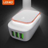 LDNIO 5V 3 4A USB Charger Travel Wall Charger Adapter 2 4W Portable Smart Mobile Phone