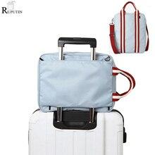 RUPUTIN Men Travel Storage Bags Foldable Suitcase Bag Portable Women Packing Cubes Luggage Organizer Business