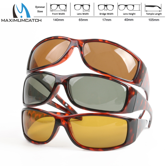 293bbf85c4d Maximumcatch Tortoise Frame Fly Fishing Polarized Sunglasses Brown Yellow  And Gray To Choose Fishing Sunglasses