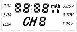 Image 4 - NEW Liitokala Lii S2 18650 Battery Charger 1.2V 3.7V 3.2V AA/AAA 26650 21700 NiMH li ion battery Smart Charger+ 5V 2A plug