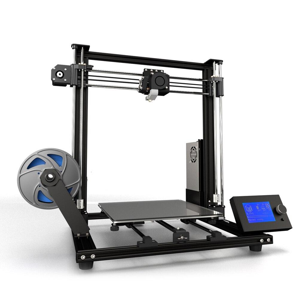 Anet A8 Plus Verbeterde Hoge precisie DIY 3D Printer zelf assemblage 300*300*350mm Grote print Maat Aluminium Frame-in 3D Printers van Computer & Kantoor op AliExpress - 11.11_Dubbel 11Vrijgezellendag 1