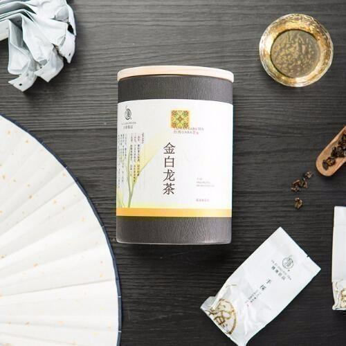 Taiwan GABA Oolong Tea 120g Jar Packaging Tai Wan Moutains GaBa Tea Aminobutyric Acid Green JinBaidLong Golden White Dragon Tea