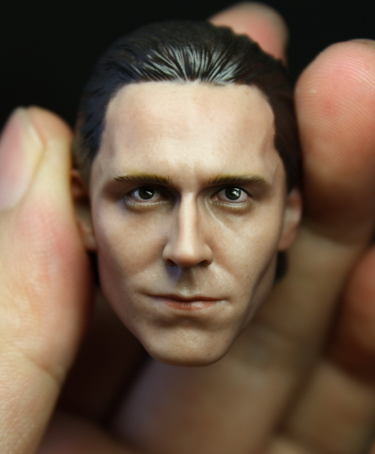 1/6 figure doll head.Marvel's The Avengers LOKI Tom Hiddleston head.doll accessories for DIY12 action figure doll headsculpt poptoys 1 6 soldier accessories the avengers loki loki windbreaker suit with cane for 12 action figure doll toys