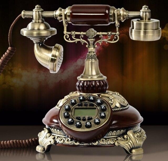 Gutherzig Mode Vintage Mode Persönlichkeit Telefon Royal Antique Telefon Anrufer-id 8675 Chinesische Aromen Besitzen