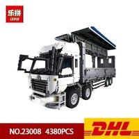 DHL Лепин 4380 23008 шт. технические серии MOC крыло кузов грузовика Набор Развивающие игрушки строительный блок кирпичи для детей подарок