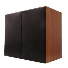 Rắn gỗ 100 wát 1 để 5 inch kệ sách loa 2.0 HiFi cột âm thanh home loa chuyên nghiệp