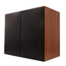 Solid wood 100W 1 to 5 inch bookshelf speaker 2.0 HiFi column audio home professional speaker