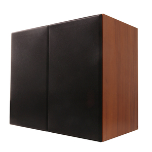 Image 1 - Solid wood 100W 1 to 5 inch bookshelf speaker 2.0 HiFi column audio home professional speaker