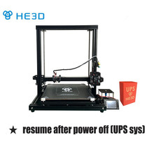 HE3D H500 giant measurement 400mm*400mm*500mm excessive precision DIY 3d printer equipment with heatbed