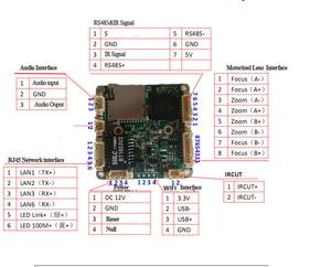 Image 5 - H.265 3MP/5MP Starlightไร้สายWIFI IP PTZกล้องโมดูล 2.7 13.5 มม.5Xซูมเลนส์ONVIF,TF Card,อัพเกรดเครื่องเสียงวิดีโอกล้องวงจรปิดCAM