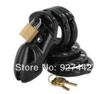 Free shipping black cb6000 male chastity device belt chastity cage sex toy