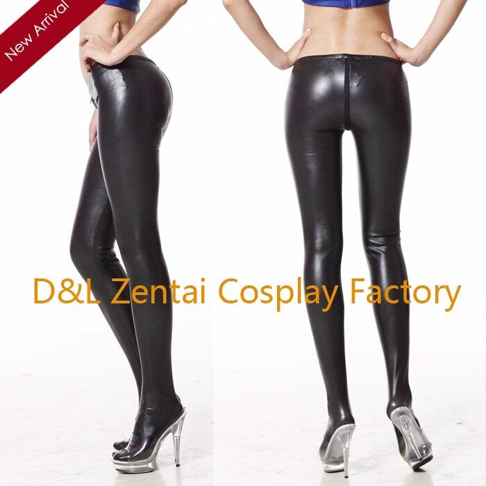 Pants shiny tight