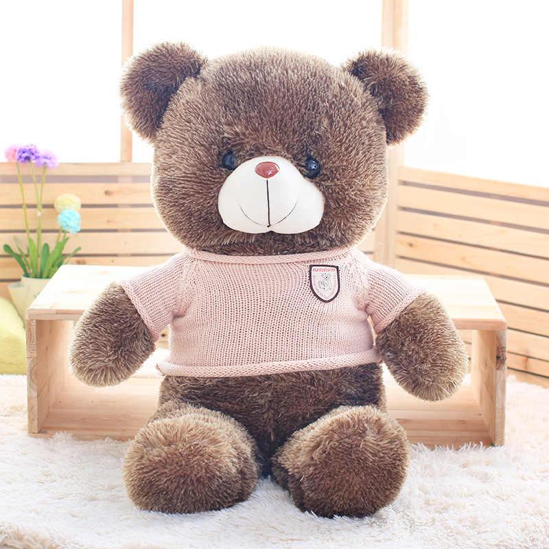 Niuniu Daddy Giant bear skin speelgoed pluche Teddybeer berenvel pluche opgevulde dier speelgoed 60cm tot 180cm groothandel