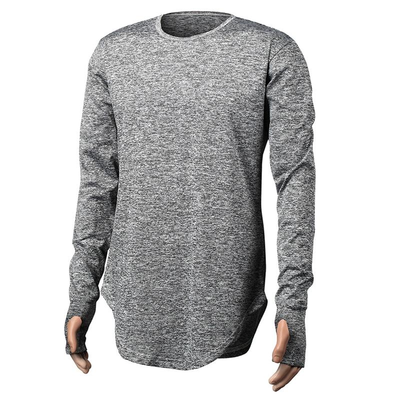 Estendere Hip Hop di Strada T Shirt All ingrosso Marchio di Moda T Shirt Da  Uomo Estate Casual O Collo Manica Lunga Oversize Disegno della Stretta della  ... f6cd349d5c8