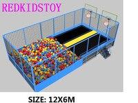 Super Quality Trampoline Park With Large Foam Pit HZ 81104